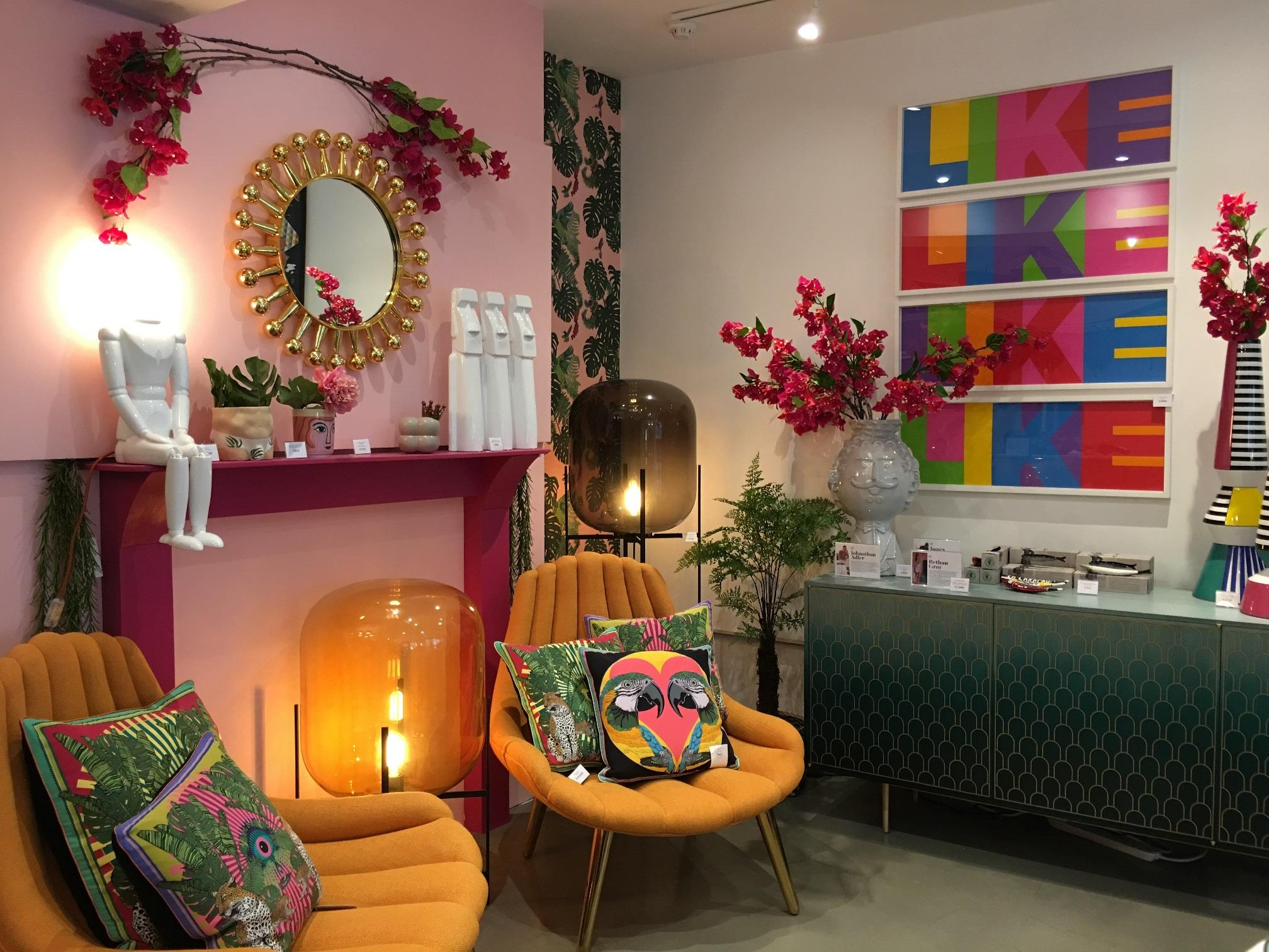 Funky new interiors store arrives in Shoreditch triangle: W. A. Green - Dopamine for the home